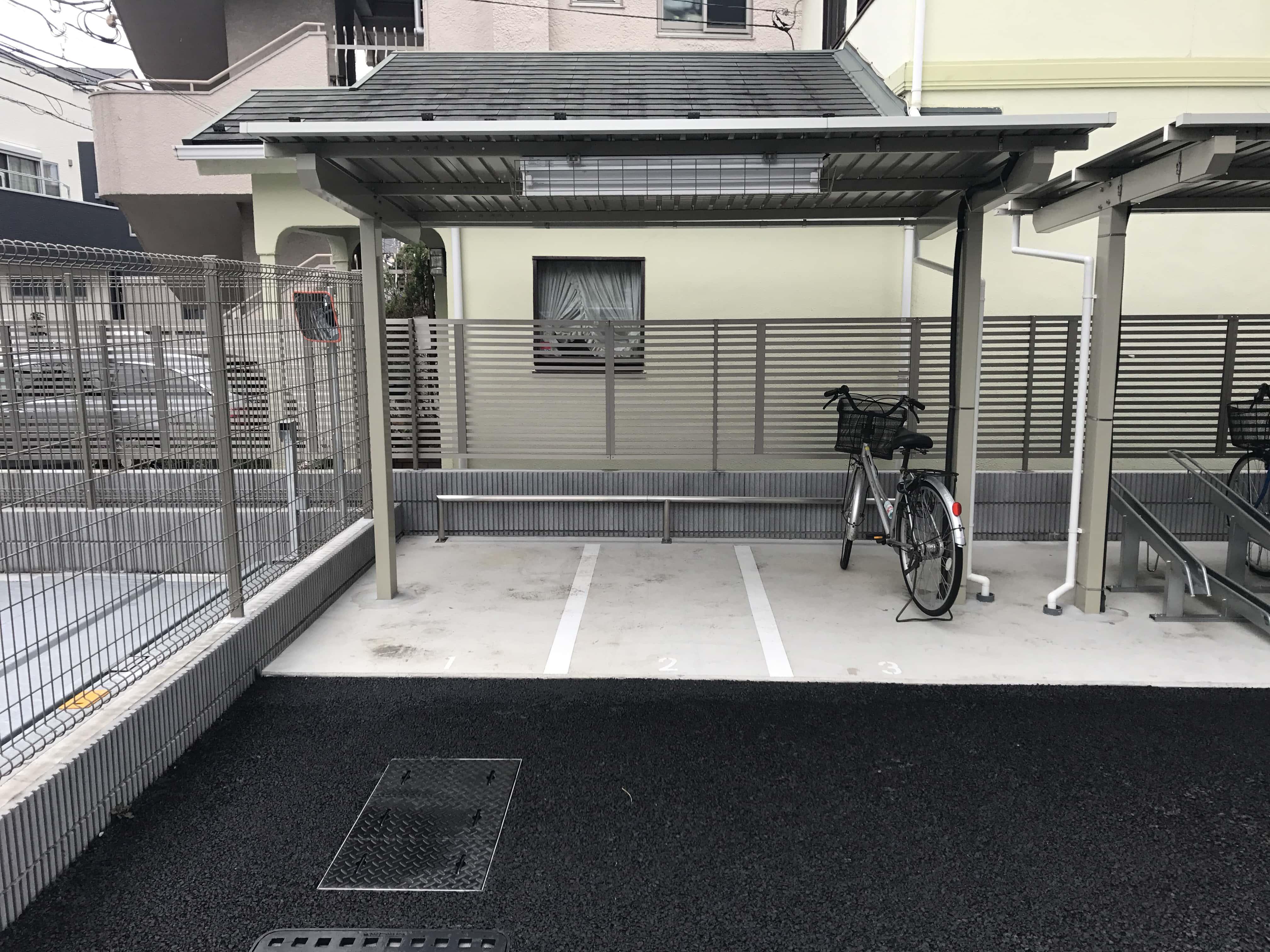 西太子堂 駐車場